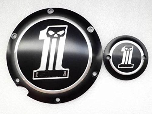 Black Derby & Timing Timer Cover for Harley Davidson XL XR Sportster 883 1200 (Sportster Timer Cover compare prices)