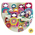 Santoro Interactive 3-D Popnrock Greeting Card, Russian Dolls (SPR008)