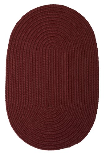 Boca Raton Polypropylene Braided Rug, 5-Feet by 8-Feet, Corona
