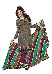 Khushbu Textile Women's Cotton Unstitched Salwar Suit (9008_Multicolor_Free Size)