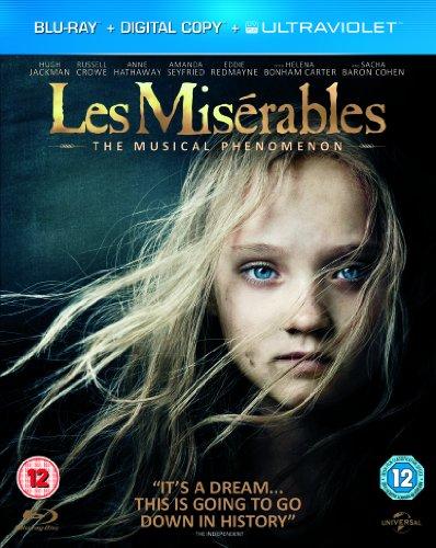 Les Misérables (Blu-ray + Digital Copy + UV Copy) [2012].