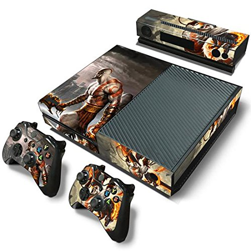 Mod Freakz Xbox One Console Vinyl Skin and Controller Skin War God Battle Fight (Xbox One Console Mods compare prices)