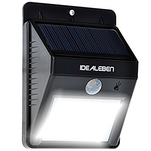 Gustig online shoppen idealeben r 8 led kabellose for Katzennetz balkon mit solar led garden lights