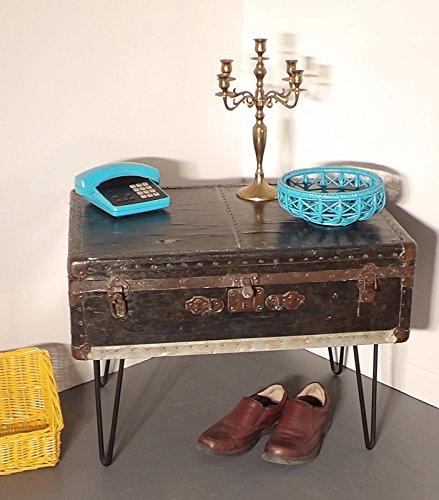 Trunk Coffee Table Foot Locker Hairpin Legs 0