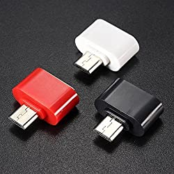 SBA BRANDED 100% ORIGINAL GENUINE QUALITY AAA Grade Compatible Simply and Stylish Cute Little Micro USB (V-8) OTG to USB 2.0 Adapter specially designed TO Attach Pendrive, Mouse, Keyboard etc.with Motorola Moto X (2nd Gen)