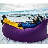 Hangout Bag Inflatable Air Sleeping Bag Infaltable Lounger Air Boat By LLUNC