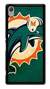 "Humor Gang Dolphin Love Printed Designer Mobile Back Cover For ""Sony Xperia Z3 - Sony Xperia Z3 Plus"" (3D, Glossy, Premium Quality Snap On Case)"