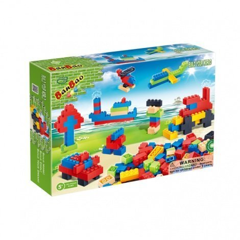 Banbao Loose Small Blocks, 194-Piece