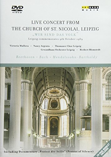 DVD : Live Concert From Church St Nicolai Leipzig