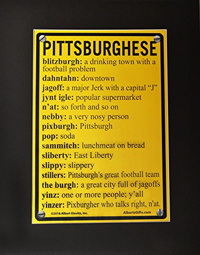 Pittsburghese Pop Art by PrivateLabel
