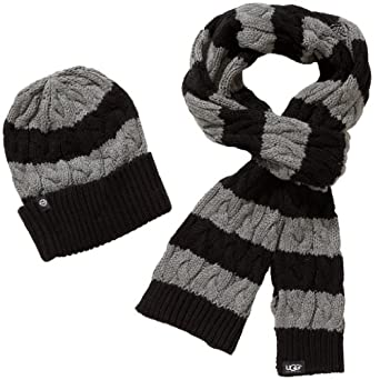 ugg ladies hat/scarf set