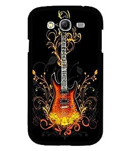 printtech Cool Guitar Pattern Design Fire Back Case Cover for Samsung Galaxy Grand 2 G7102::Samsung Galaxy Grand 2 G7106