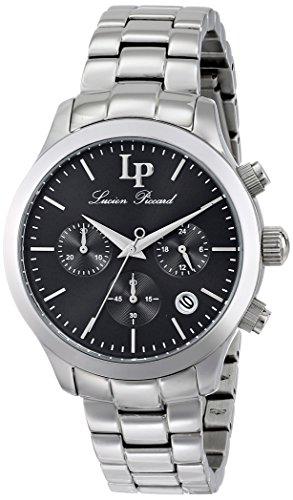 Lucien Piccard LP-12914-11 - Reloj para mujeres, correa de acero inoxidable color plateado