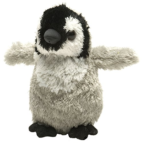 Wild Republic Hug Ems Emperor Penguin Chick Plush Toy - 1
