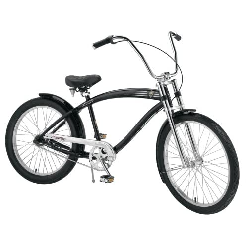 Amazon.com : Nirve Street King Men's 3-Speed Cruiser Bike (Gloss Black