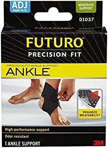 futuro sport adjustable ankle support instructions