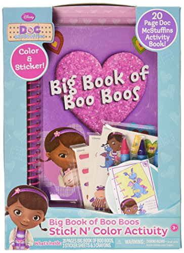 Doc McStuffins Big Book Of Boo Boos - 1