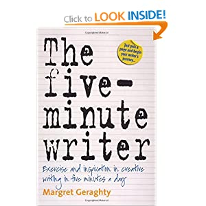 Image: Cover of The 5-minute Writer