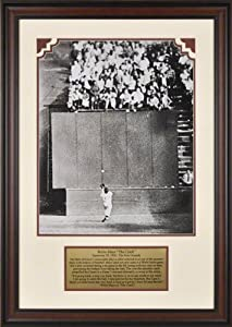 Willie Mays San Francisco Giants Framed 16x20 Photograph with Descriptive Plate by Mounted Memories