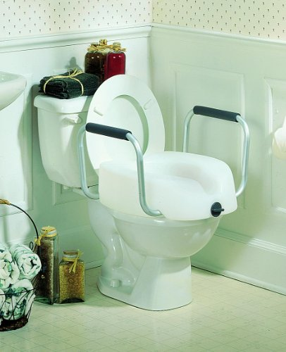 Clamp-On Raised Toilet Seat Each/5.5