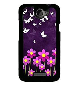 Droit Customised Designer Back Covers for HTC X By Droit store.