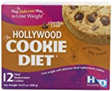 Hollywood Miracle Diet Cookie Diet, Chocolate Chip, Box