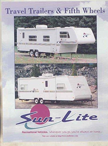 1998 SunLite Travel Trailer Brochure