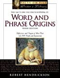 Facts on File Encyclopedia of Word and Phrase Origins (0816059926) by Hendrickson, Robert
