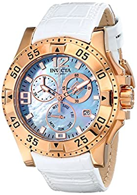 Invicta Women's 16100 Excursion Analog Display Swiss Quartz White Watch