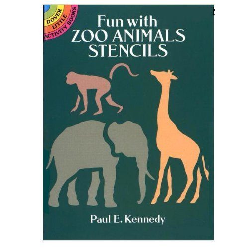 Fun with Zoo Animals Stencils - 1