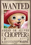 """One Piece Poster """"Wanted Chopper"""" (52 x35 cm)..."""