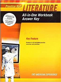prentice hall literature answer key