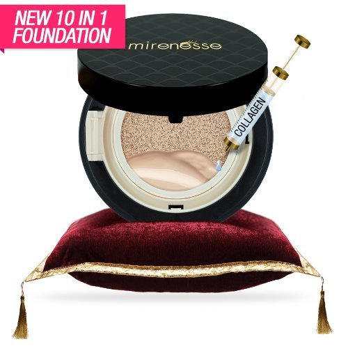 world-launch-mirenesse-cosmetics-10-collagen-cushion-foundation-compact-airbrush-liquid-powder-spf25