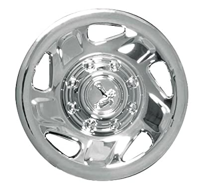 CCI IWC134-16C 16 Inch Clip On Chrome Finish Hubcaps - Pack of 4
