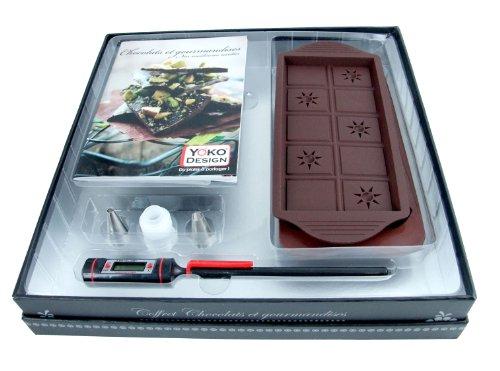 Yoko-Design-1198-Coffret-Accessoires-Chocolats-et-Gourmandises-Carton-Pellicul-Texte-Coloris-Argent