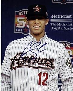 Carlos Correa Signed 8x10 Photo w COA 2013 Houston Astros #1 Pick E - Autographed MLB... by Sports+Memorabilia