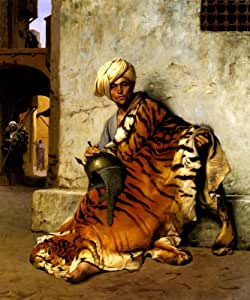 Amazon Com Merchant Of Tiger Skin In Cairo Arabian