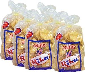 Amazon.com : Cuban Crackers Rika 12 oz bag. Pack of 6 : Fresh Bakery