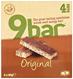 Wholebake 9 Original Hemp Seed Bar 40 g (Pack of 4)