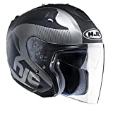 HJC(エイチジェイシー)バイクヘルメット ジェット ブラック(MC5F) L(59-60) FG-JET アカディア HJH088