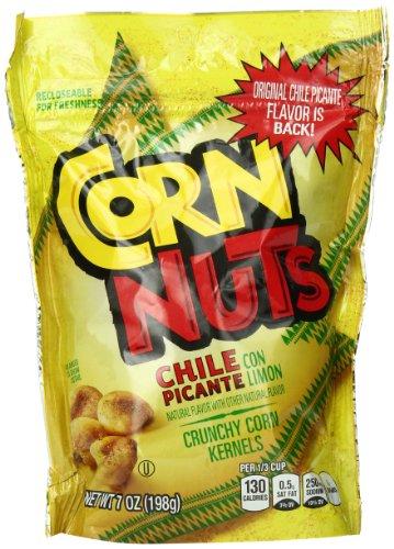 Corn Nuts Snack, Chile Picante, 7 Ounce (Pack of 12) (Corn Nuts Picante compare prices)