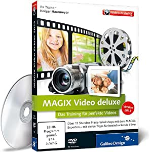 MAGIX Video deluxe 2013 - Das Training für perfekte Videos