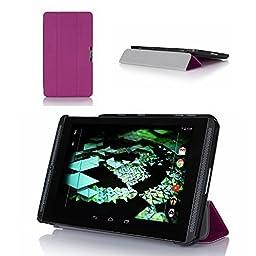 ProCase Ultra Slim Hard Shell Stand Case for NVIDIA Shield K1 / 2 Tablet - Purple