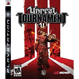 unreal tournament III 3 ut3 ps3 utIII