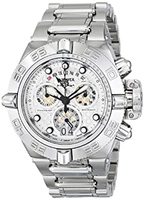 Invicta Men's 11874 Subaqua Analog Display Swiss Quartz Silver Watch