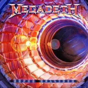 SUPER COLLIDER LP (VINYL ALBUM) EUROPEAN UNIVERSAL 2013 by MEGADETH