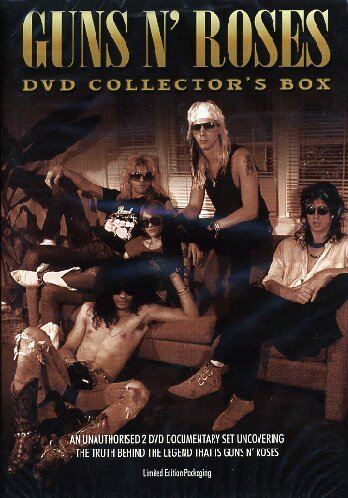 Guns N'Roses - The Dvd Collector's Box (Limited) (2 Dvd)