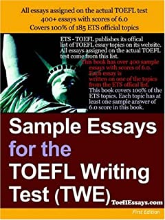 Good Luck TOEFL - Free TOEFL Writing Topics list