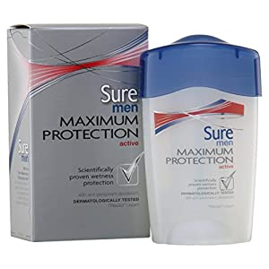 Sure Men Maximum Protection Active Antiperspirant Deodorant Cream