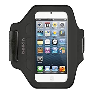 Belkin Ease-Fit Armband for Apple iPod Touch 5th Generation (Black) from Belkin Inc.